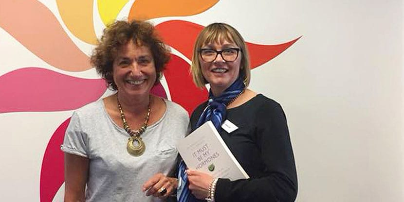 Menopause experts Deborah Vine And Marion Gluck